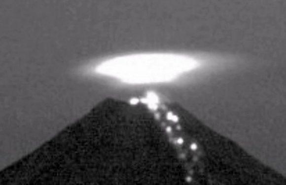Уфолог заметил 30-метровый НЛО, влетающий в жерло вулкана Попокатепетль