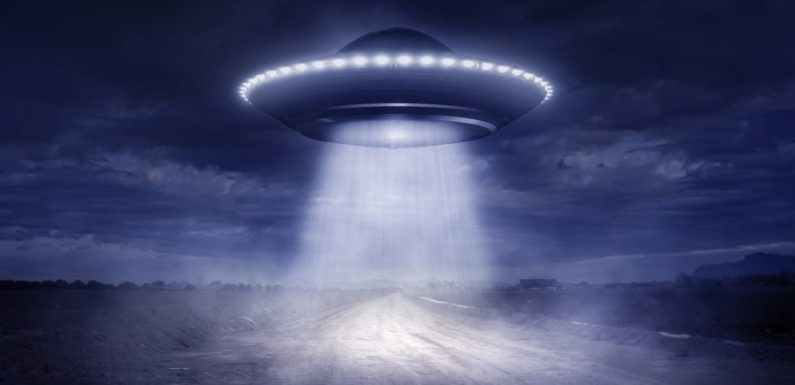 На Гавайях заметили НЛО синего цвета