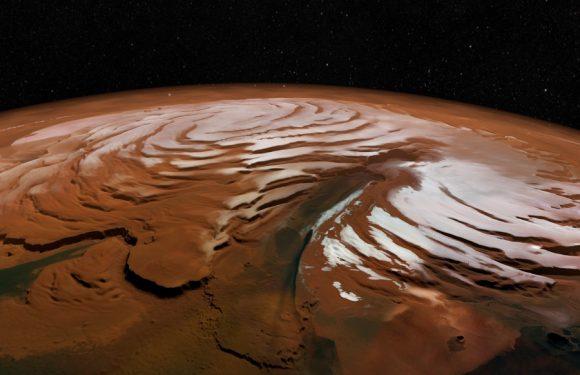 Ученые: Тающий на Марсе снег может скрывать внеземные формы жизни