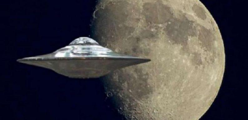 Уфологи зафиксировали огромный НЛО на Луне