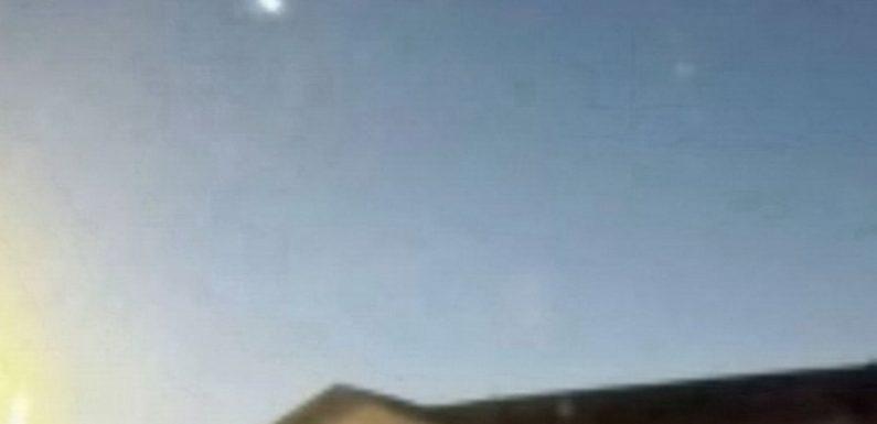 Огненный шар пронесся по Северному Техасу, создавая световое шоу