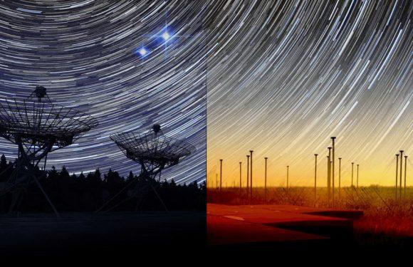 Странный радиовсплеск зафиксирован сразу двумя обсерваториями