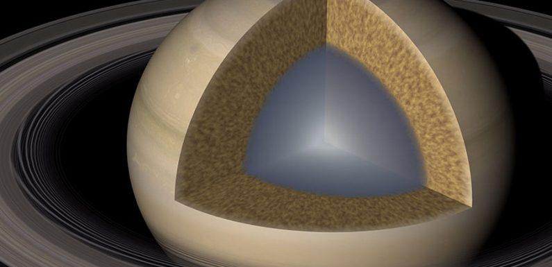 """Астрономы выяснили, что Сатурн, как и Юпитер, имеет """"нечеткое"""" ядро"""