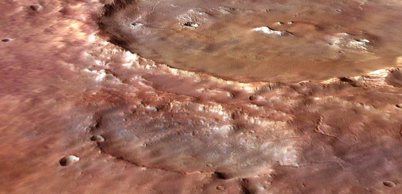 Геологи обнаружили, что марсоход НАСА исследовал поверхностные отложения, а не отложения древних озер